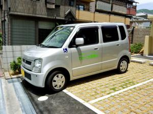 送迎車の写真