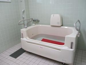 デイサービス 風呂の写真